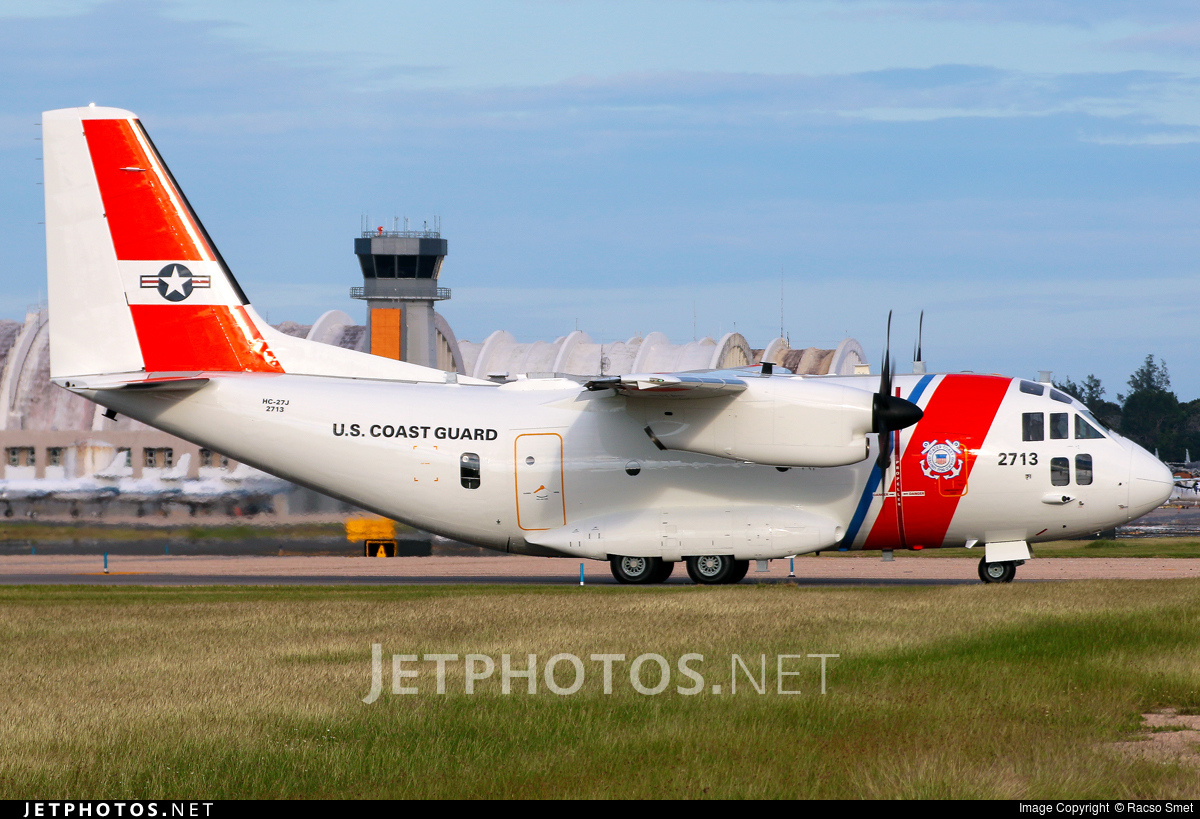 2713 - Alenia C-27J Spartan - United States - US Coast Guard (USCG