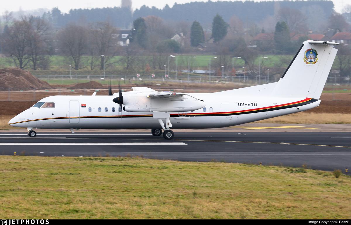 D2-EYU - Bombardier Dash 8-Q315 - Angola - Government