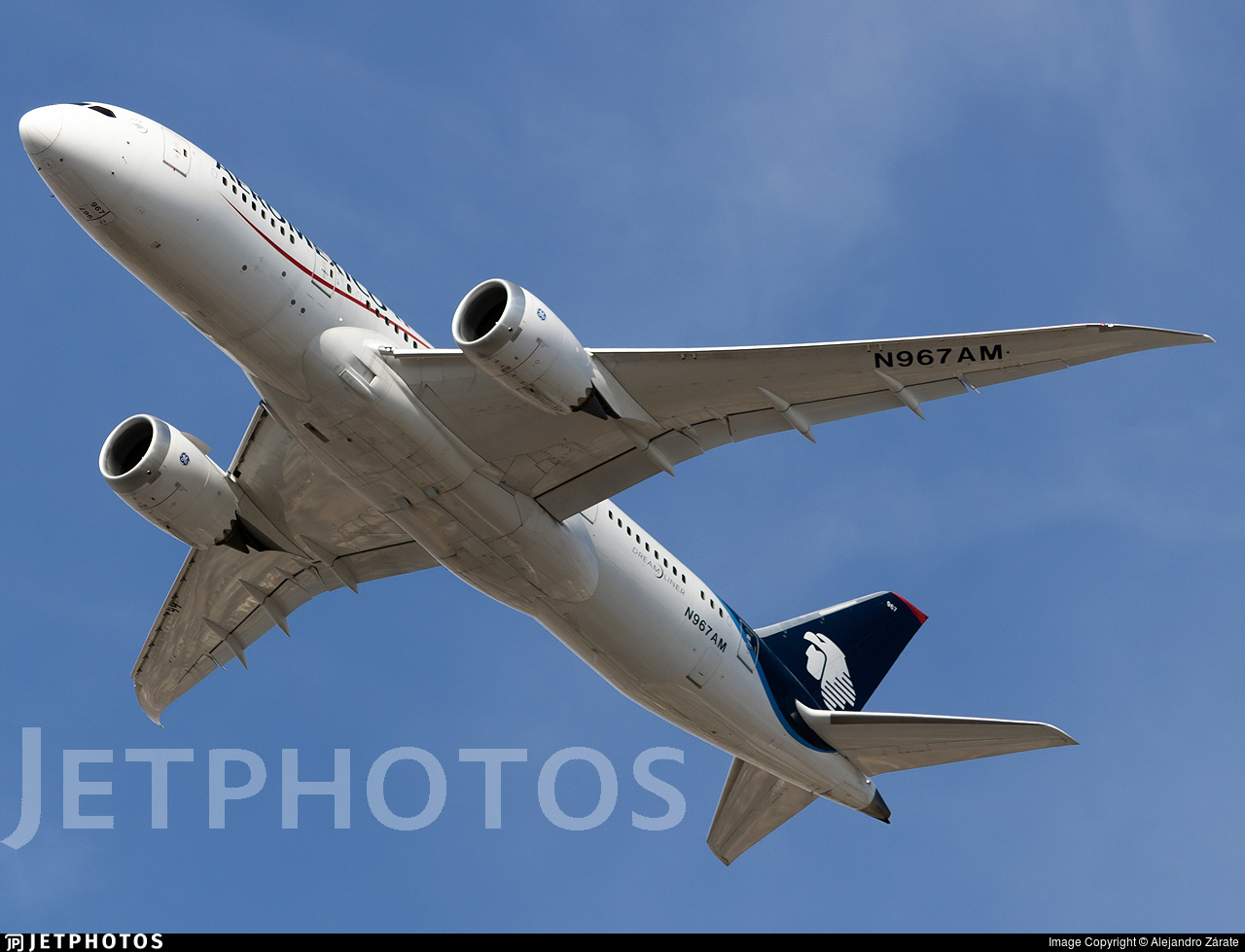 N967AM - Boeing 787-8 Dreamliner - Aeromexico