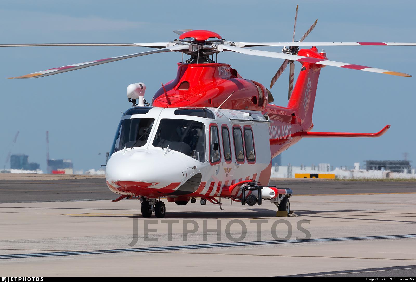 VH-YXJ - Agusta-Westland AW-139 - Air Ambulance Victoria