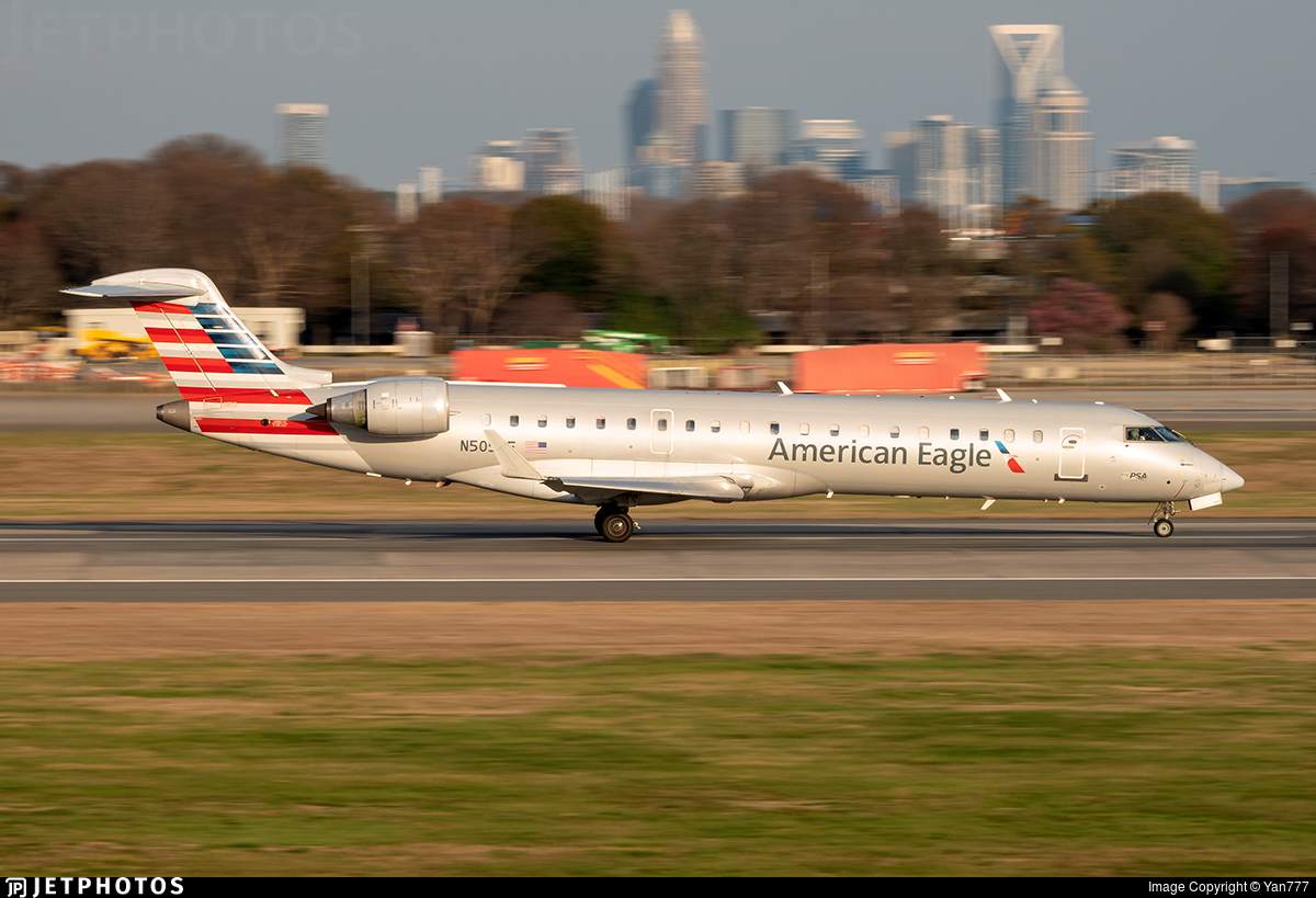 N505AE - Bombardier CRJ-701ER - American Eagle (PSA Airlines)