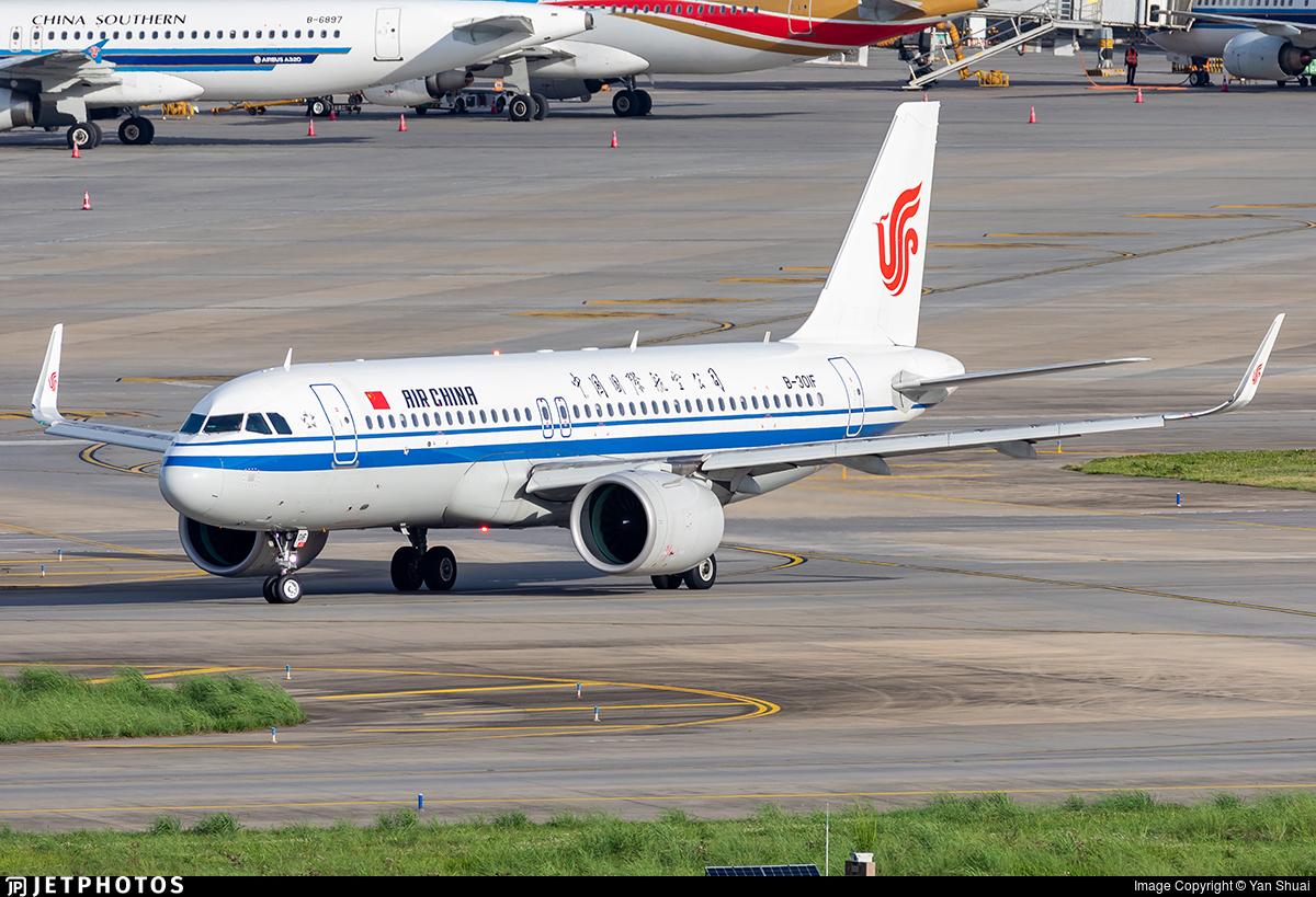 B-301F - Airbus A320-271N - Air China