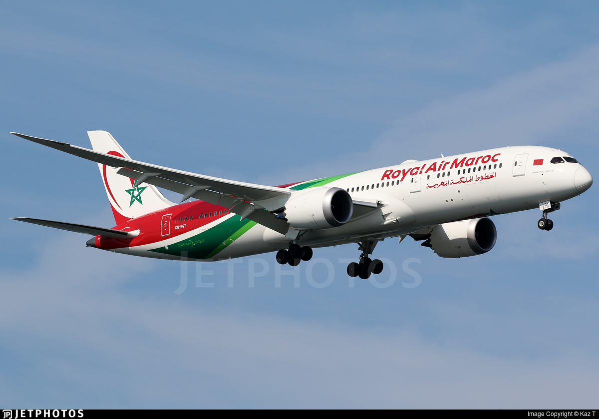 CN-RGY - Boeing 787-9 Dreamliner - Royal Air Maroc (RAM)