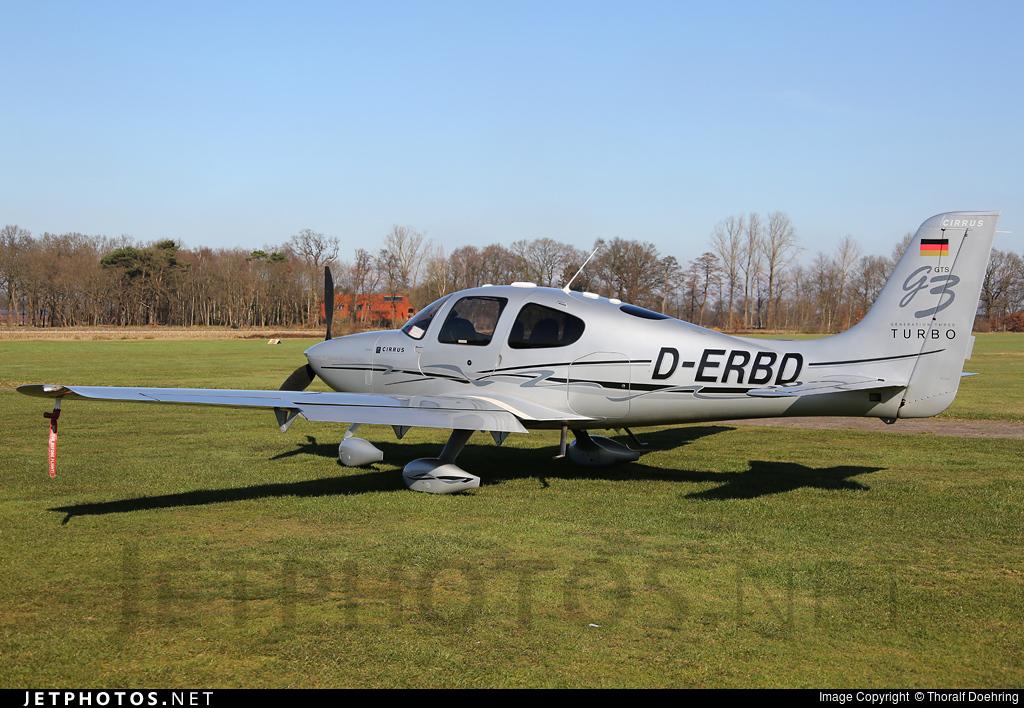 D-ERBD - Cirrus SR22-GTS G3 Turbo - Private