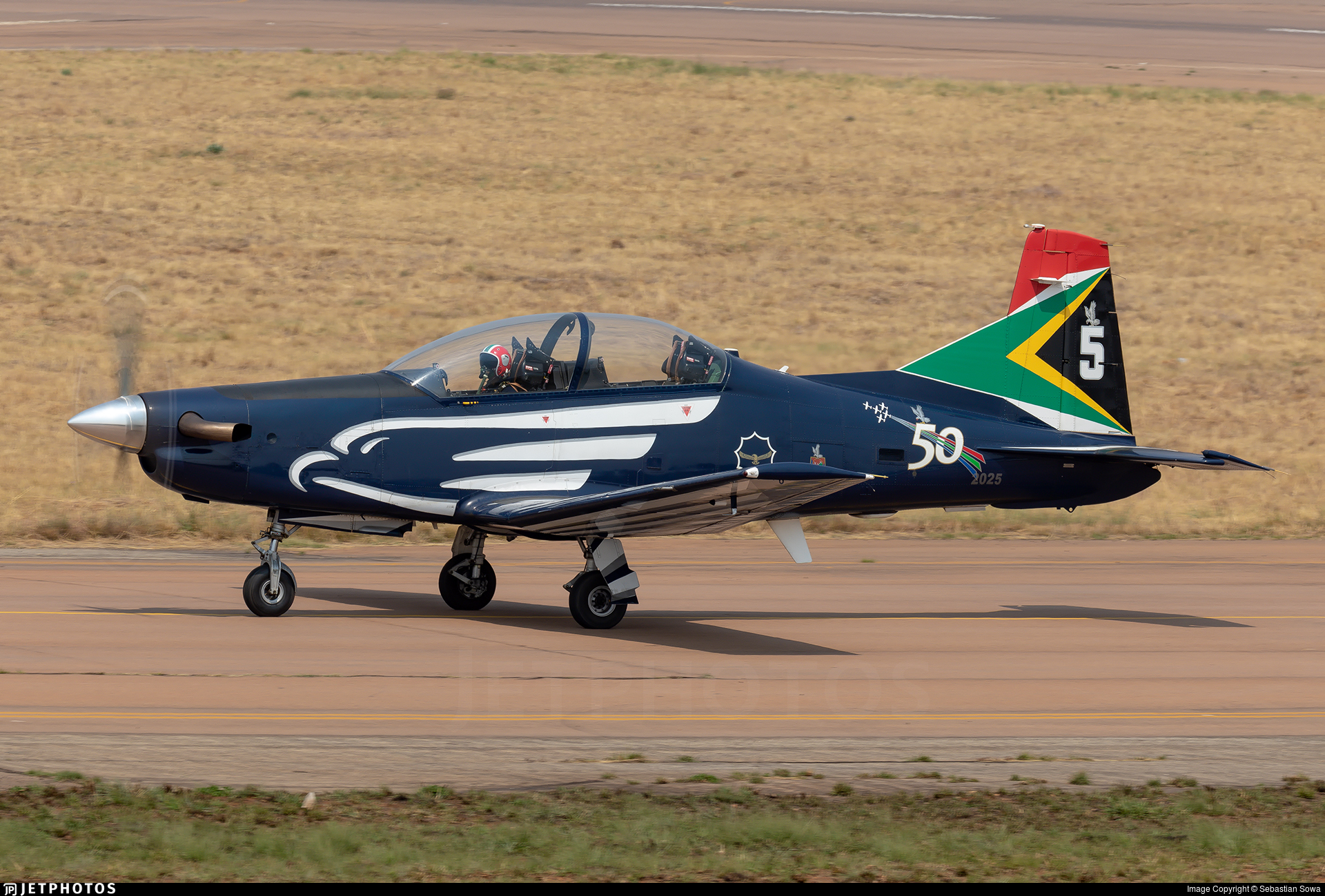 2025 - Pilatus PC-7 Mk.II - South Africa - Air Force