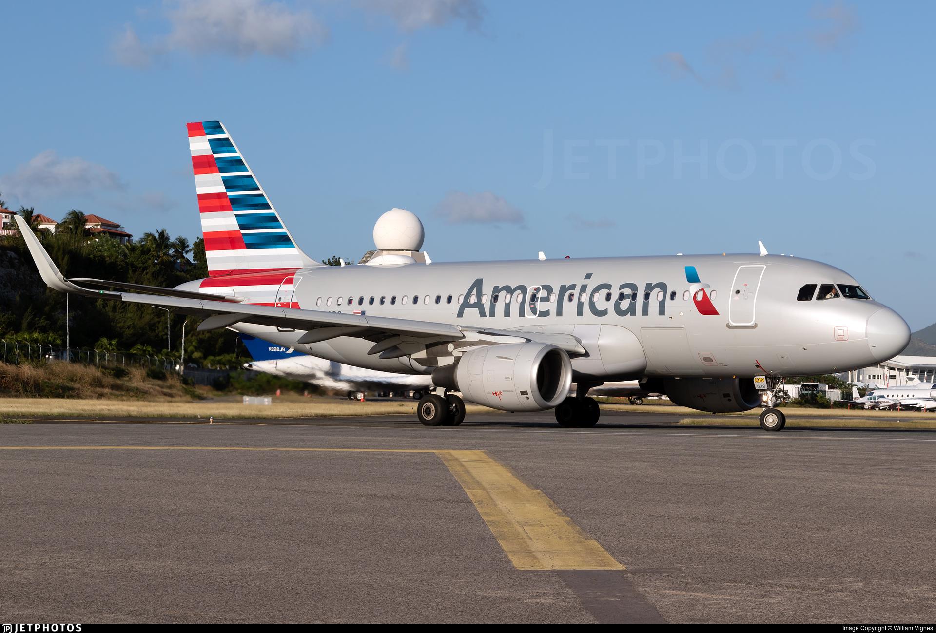 N12028 - Airbus A319-115 - American Airlines