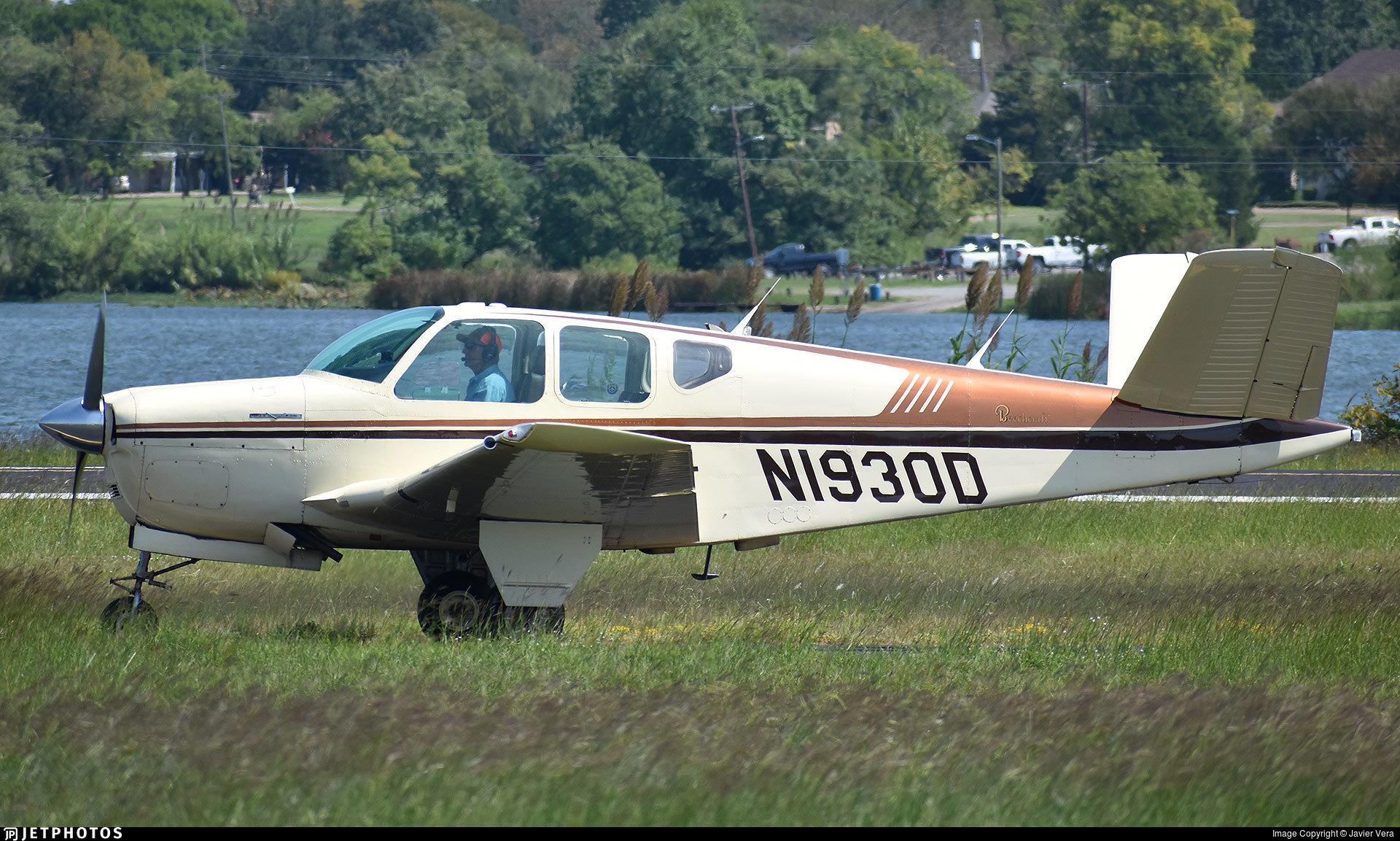 N1930D - Beechcraft C35 Bonanza - Private
