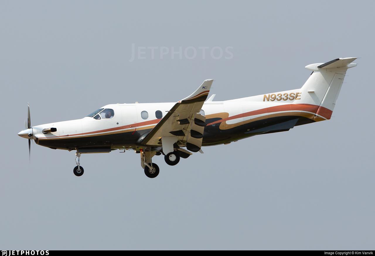 N933SE - Pilatus PC-12/45 - Private