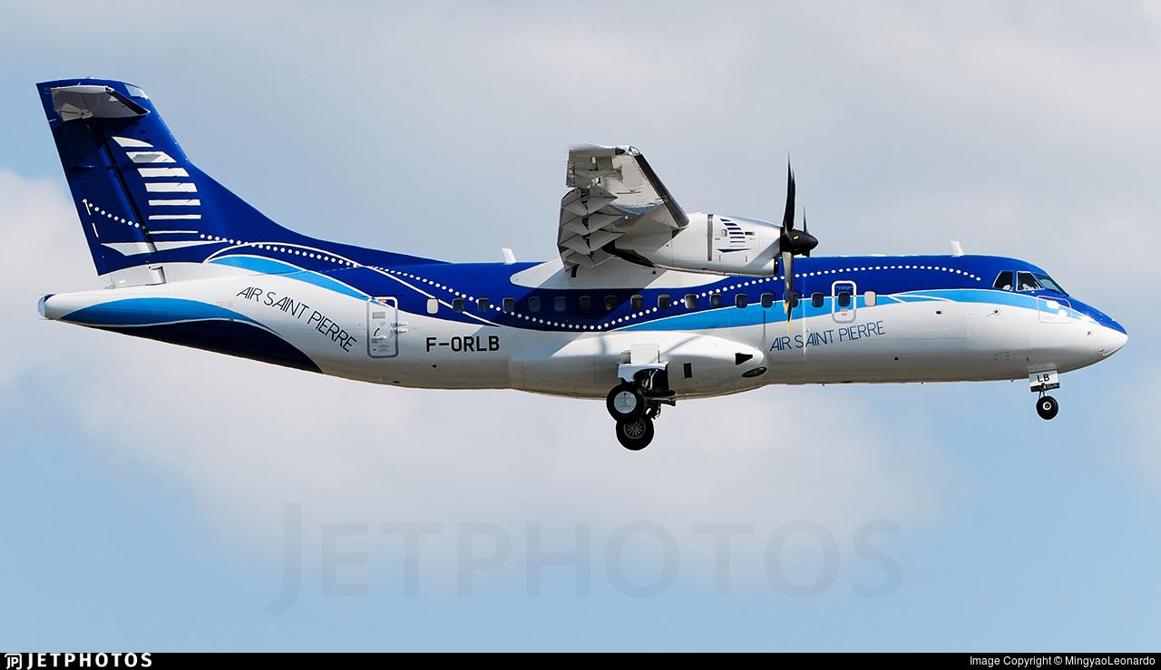 F-ORLB - ATR 42-600 - Air Saint-Pierre