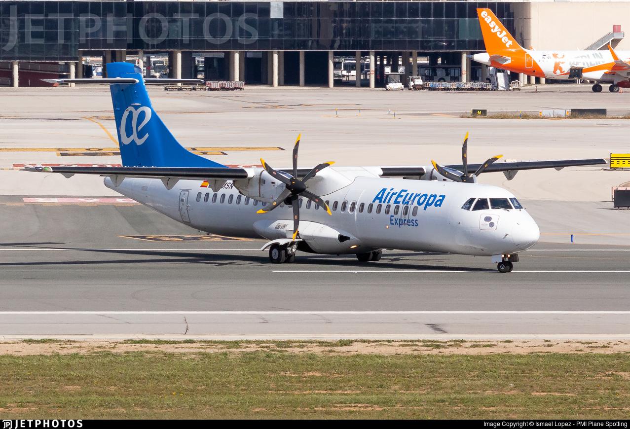 EC-MSN - ATR 72-212A(500) - Air Europa Express