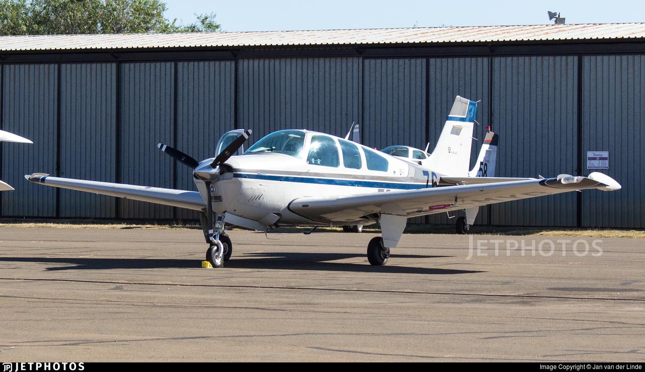ZS-MYB - Beechcraft F33A Bonanza - Private