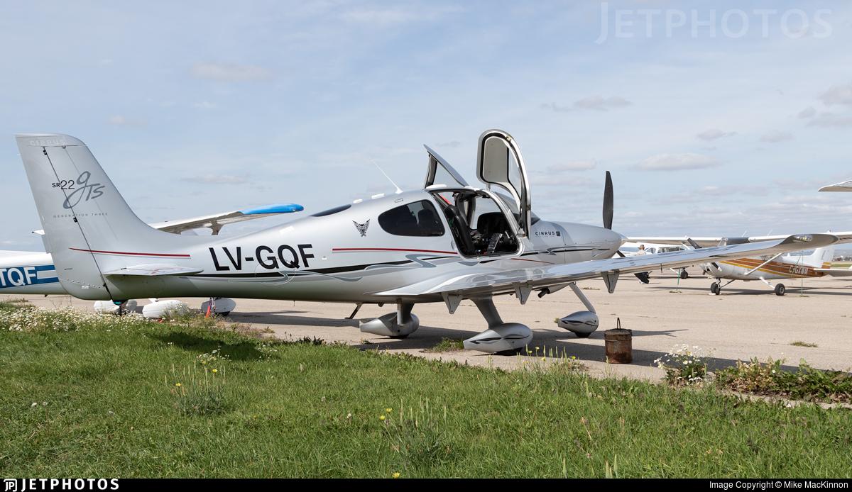 LV-GQF - Cirrus SR22-GTS G3 - Private