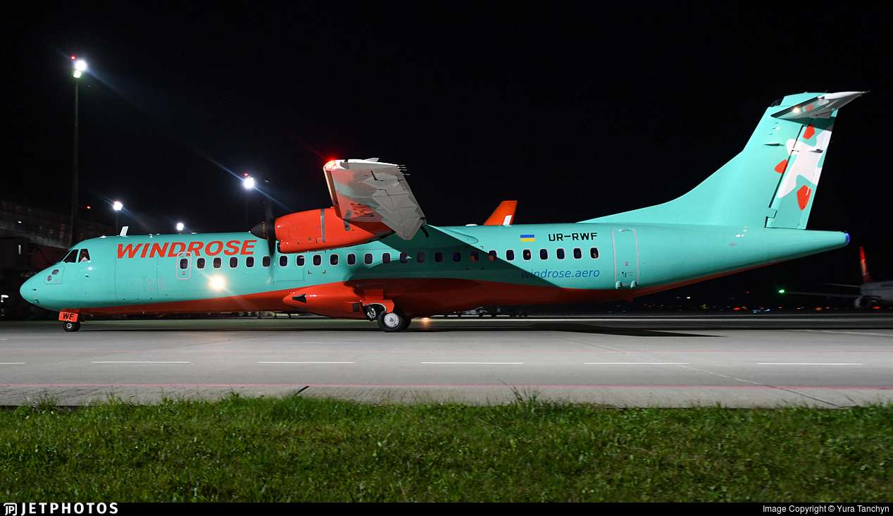UR-RWF - ATR 72-212A(600) - Windrose Airlines