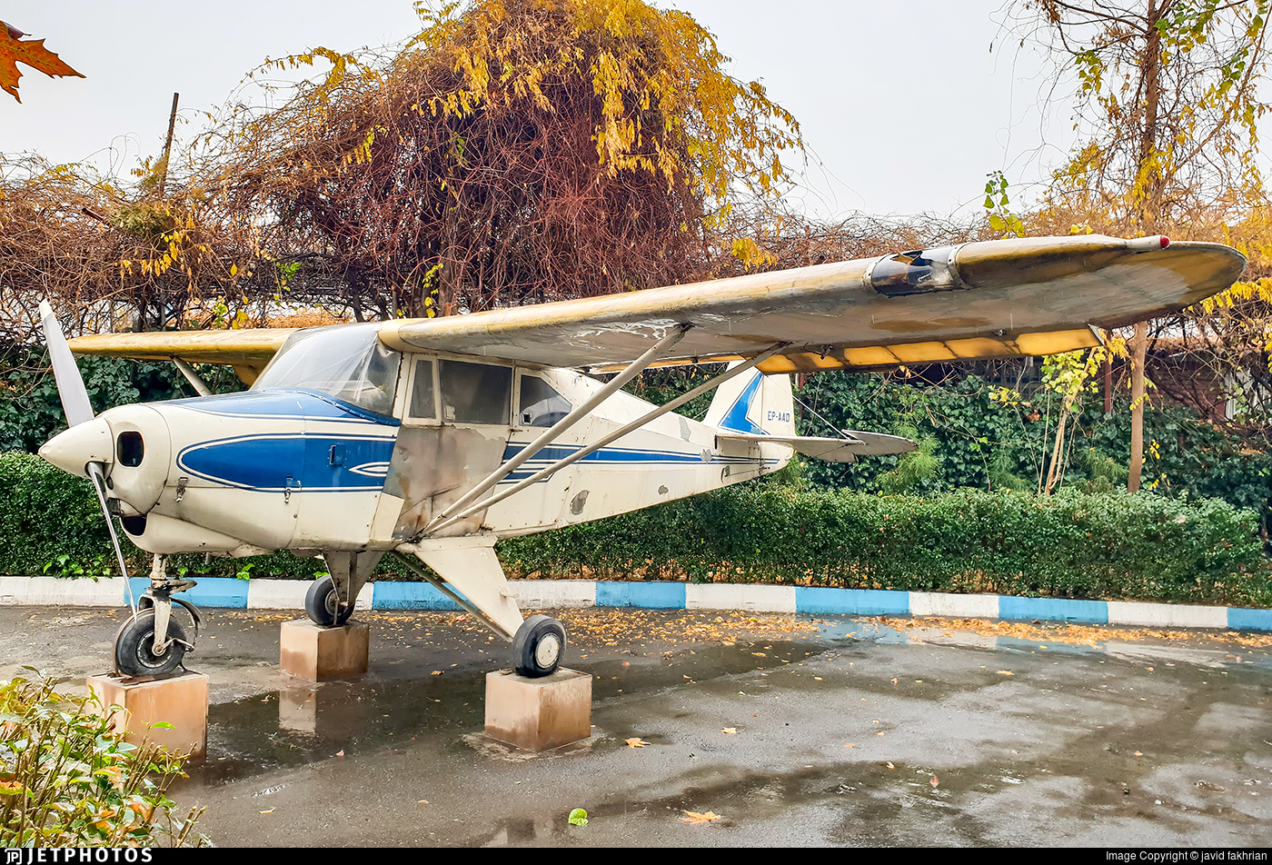 EP-AAD - Piper PA-22-150 Tri-Pacer - Iran Aseman Airlines
