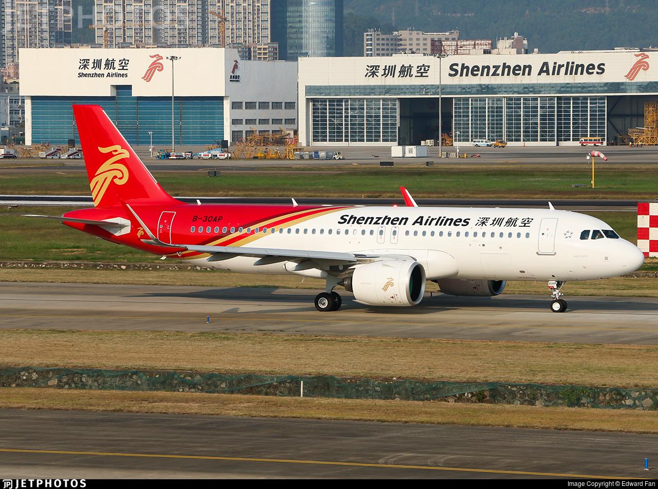 B-30AP - Airbus A320-271N - Shenzhen Airlines