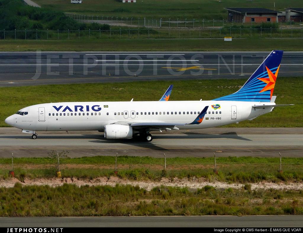 PR-VBG - Boeing 737-8EH - Varig