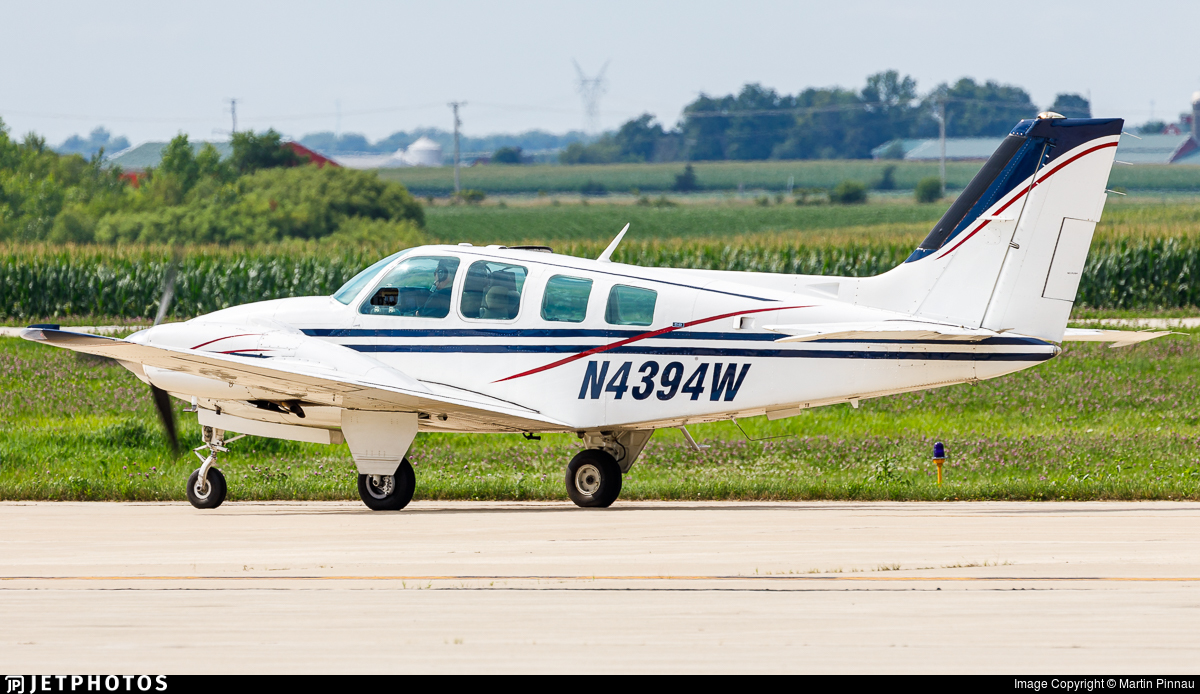 N4394W - Beechcraft 58 Baron - Private