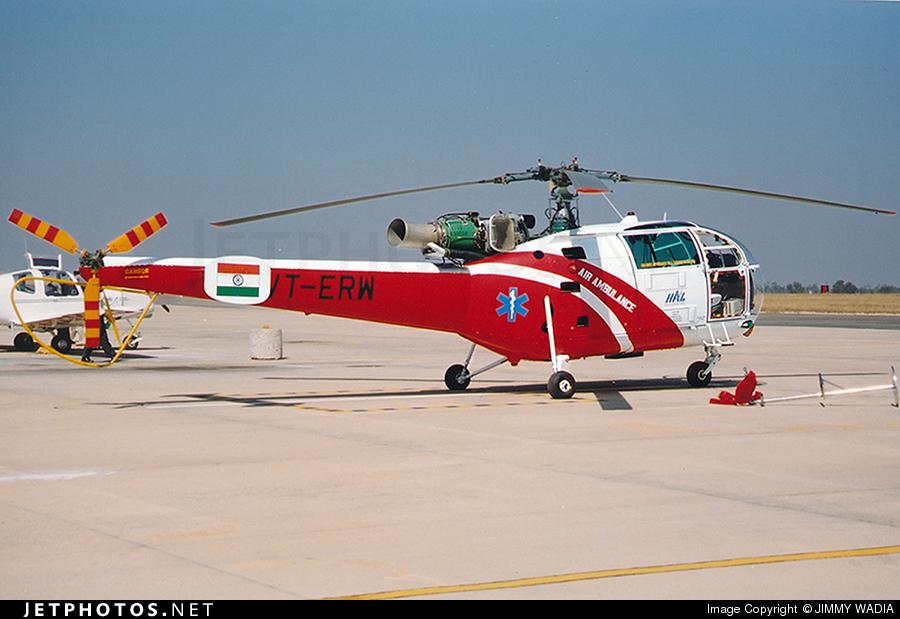 VT-ERW - Hindustan Aeronautics SA 316B Chetak - Hindustan Aeronautics