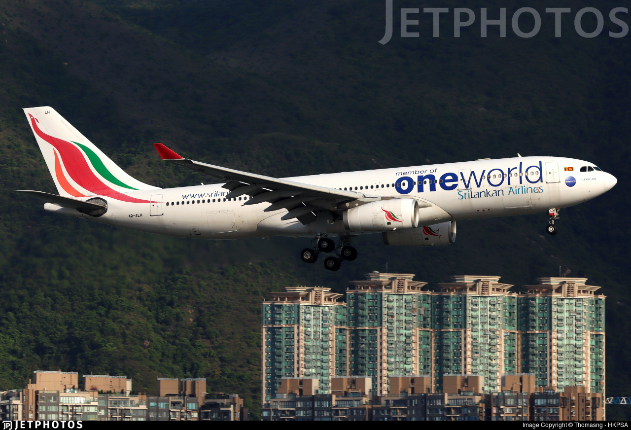 4R-ALH - Airbus A330-243 - SriLankan Airlines