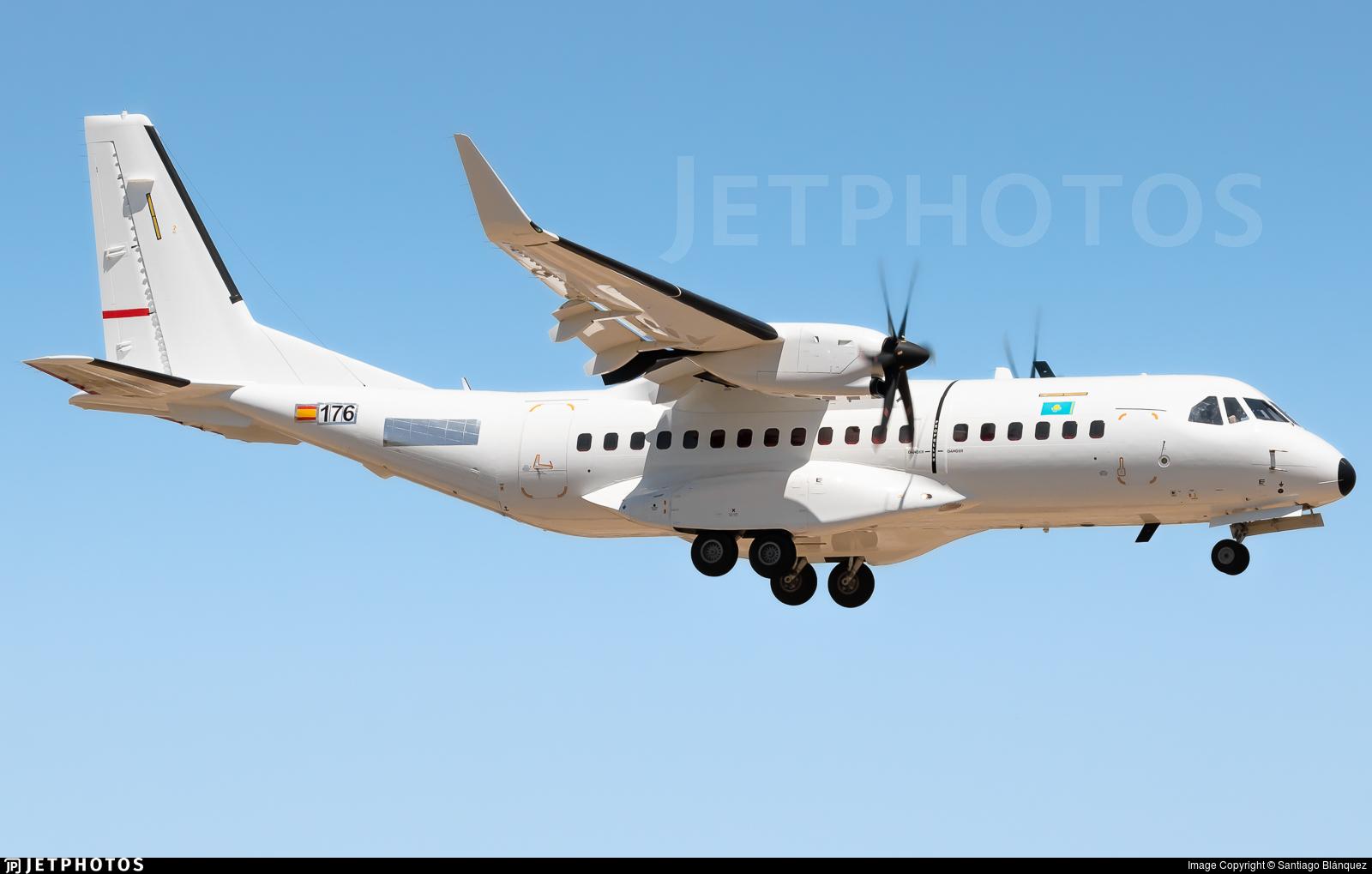 176 - Airbus C295W - Kazakhstan - Border Guard