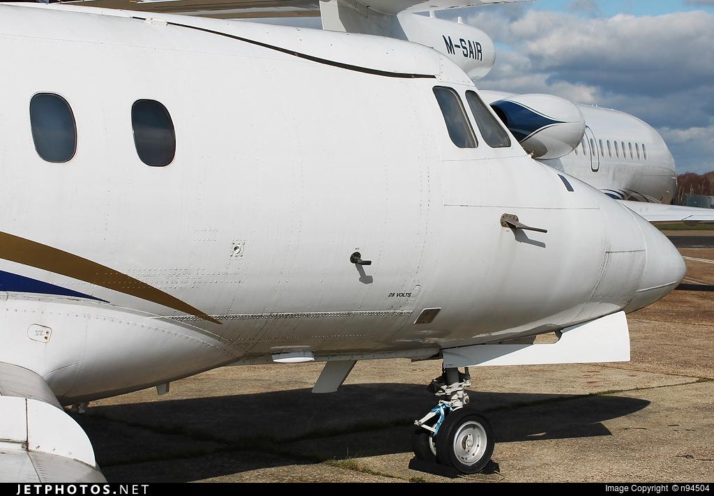 VP-BKK - Hawker Siddeley HS-125-F400A - Air 125