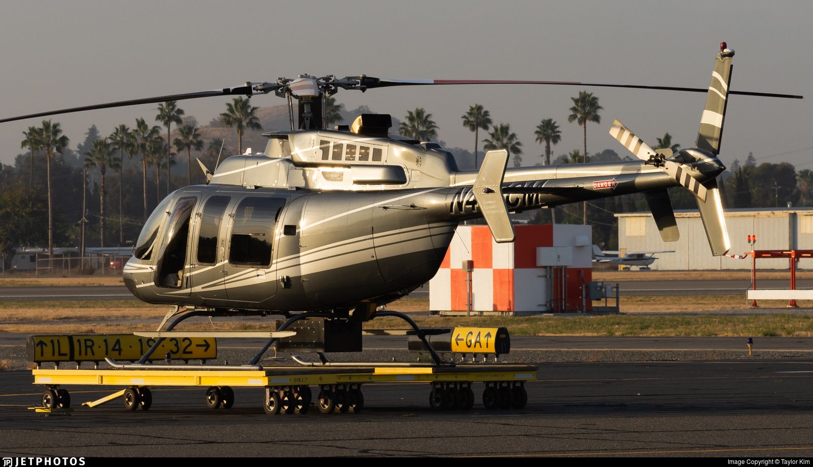 N407CM - Bell 407 - Private
