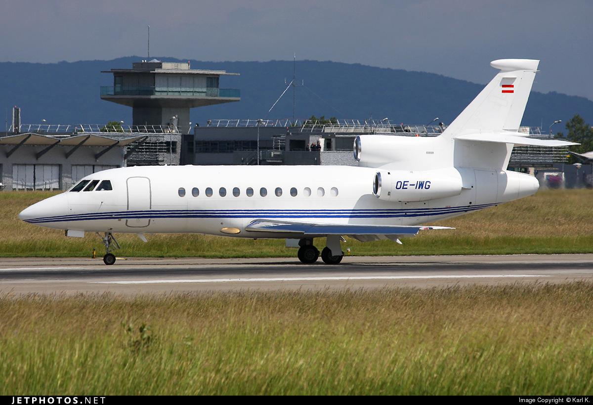 OE-IWG - Dassault Falcon 900EX - Private