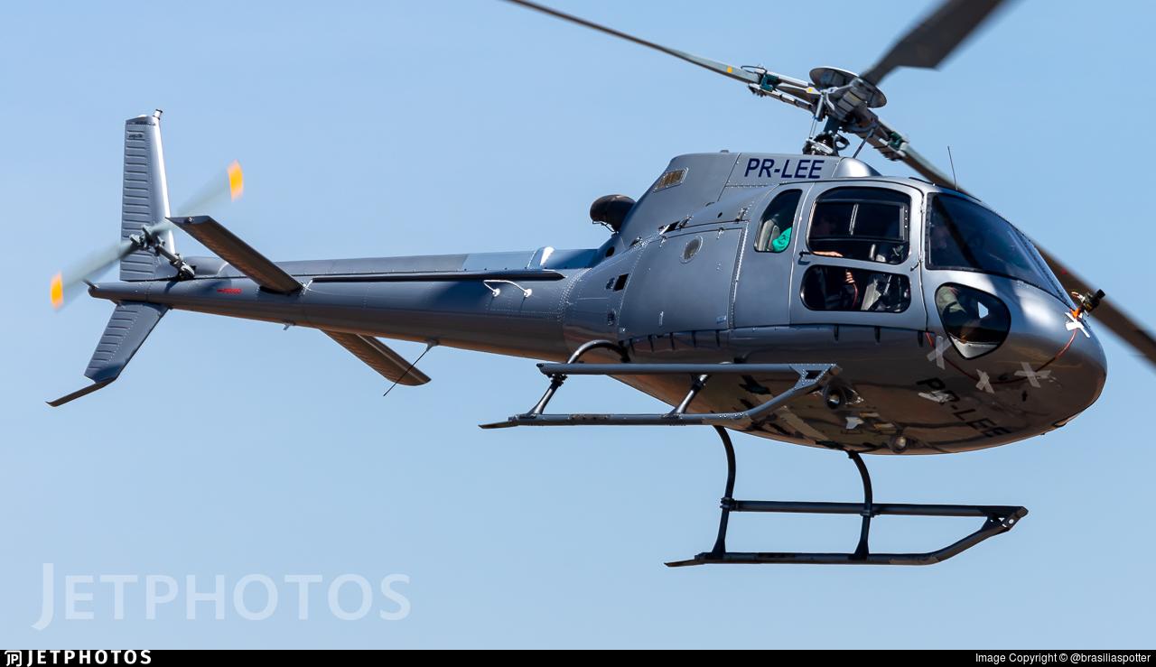 PR-LEE - Helibrás AS-350B2 Esquilo - Brazil - Federal Police