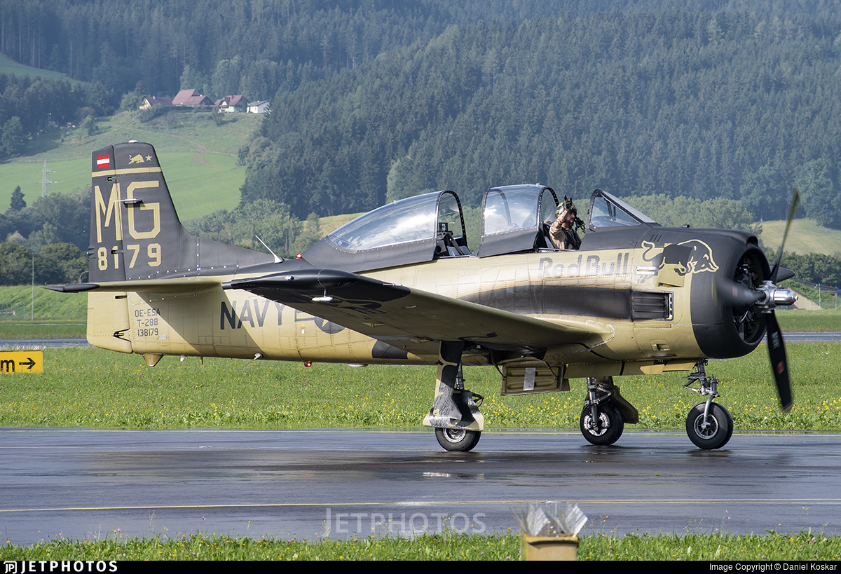 OE-ESA - North American T-28B Trojan - The Flying Bulls