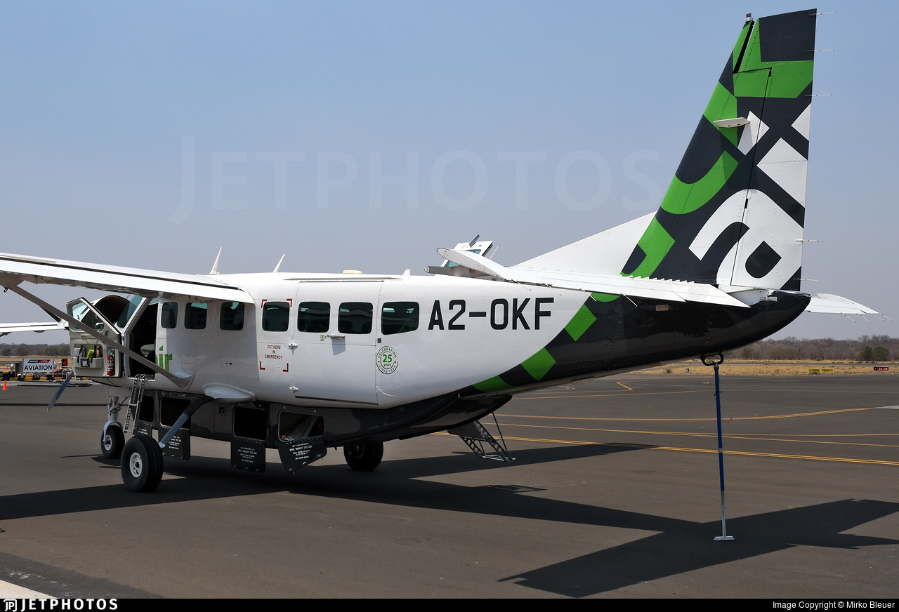 A2-OKF - Cessna 208B Grand Caravan EX - Mack Air