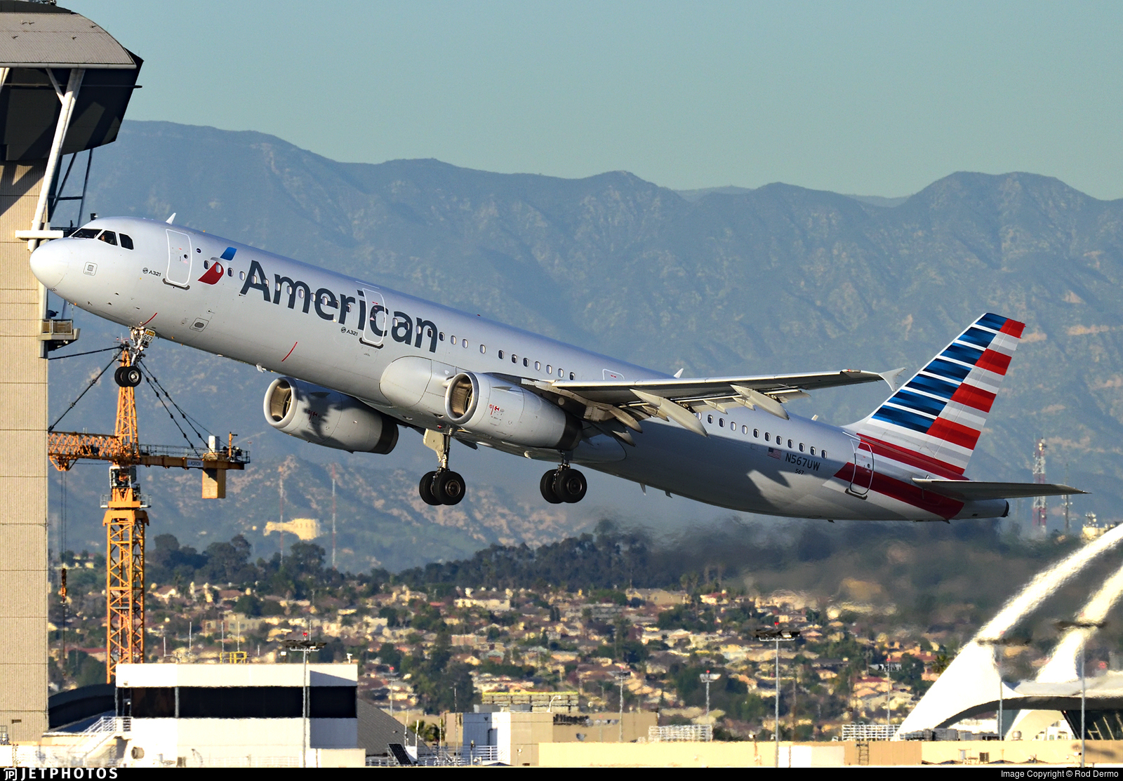 N567UW - Airbus A321-231 - American Airlines