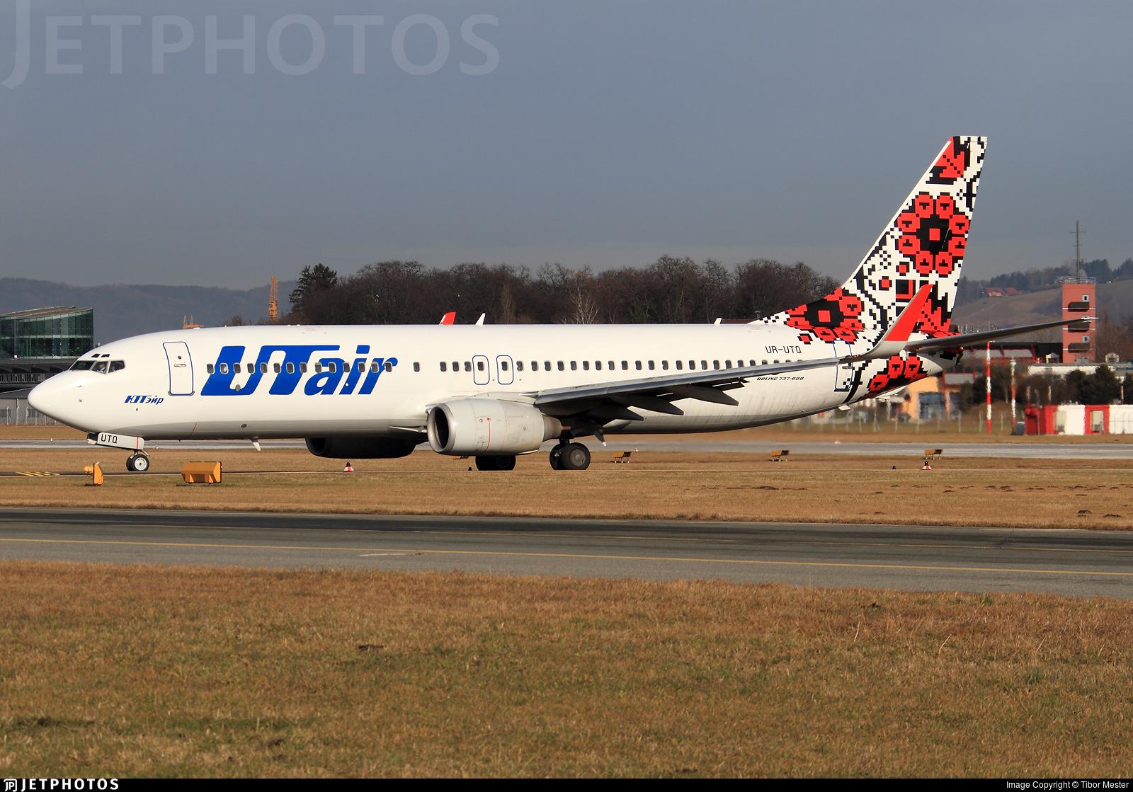 UR-UTQ - Boeing 737-83N - UTair Ukraine