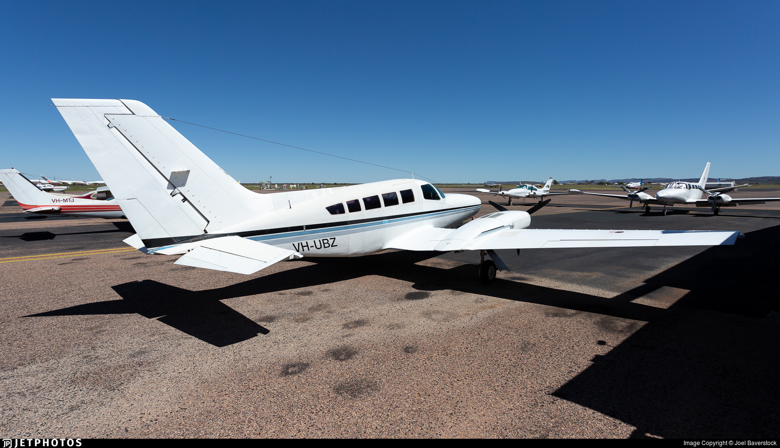 VH-UBZ - Cessna 402C - Northern Territory Air Services