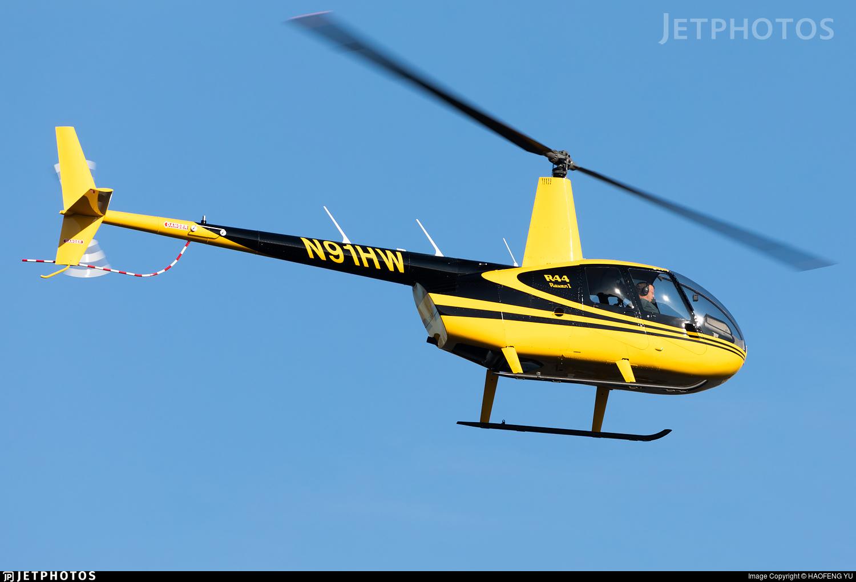 N91HW - Robinson R44 Raven - Private