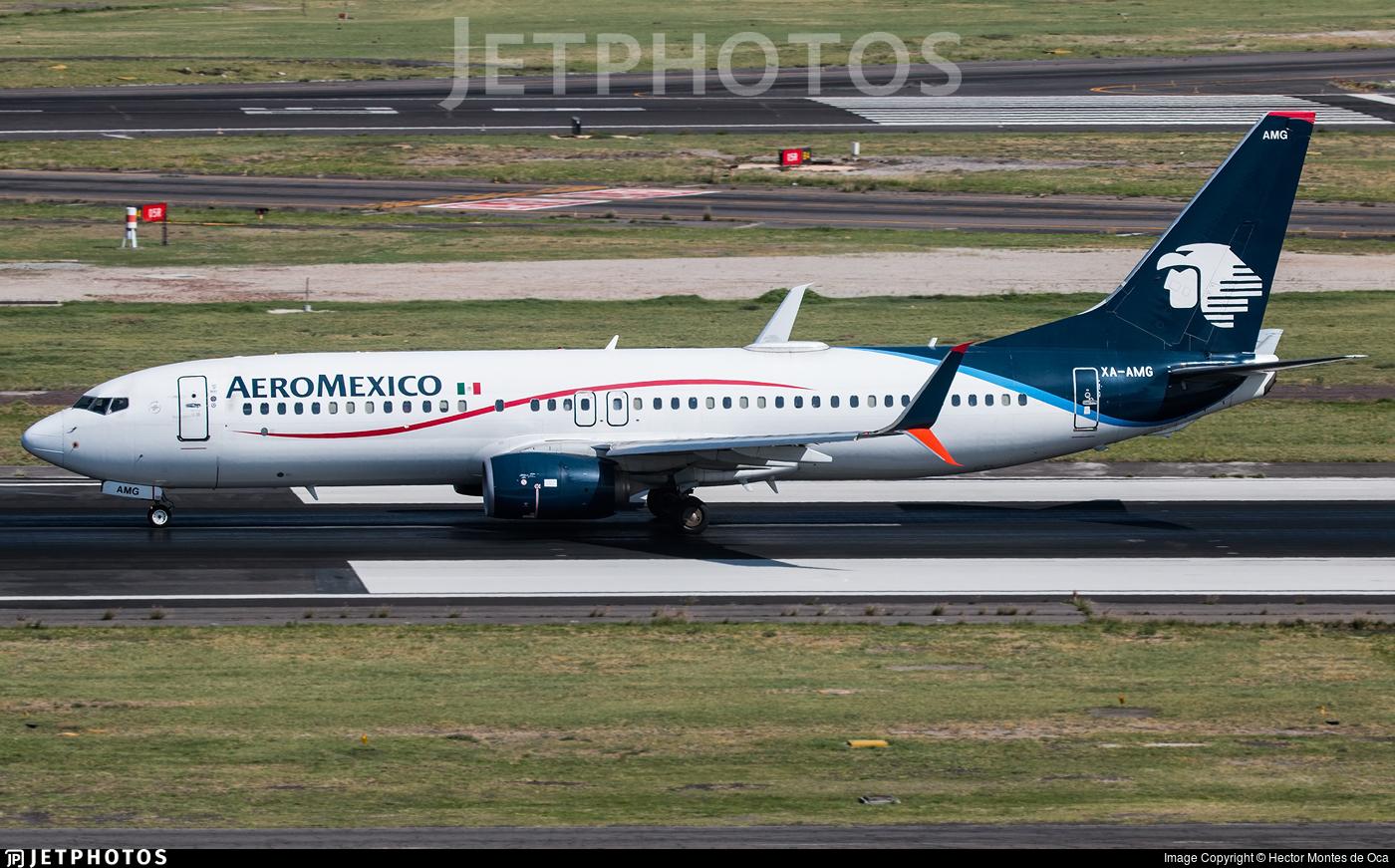 XA-AMG - Boeing 737-81D - Aeromexico