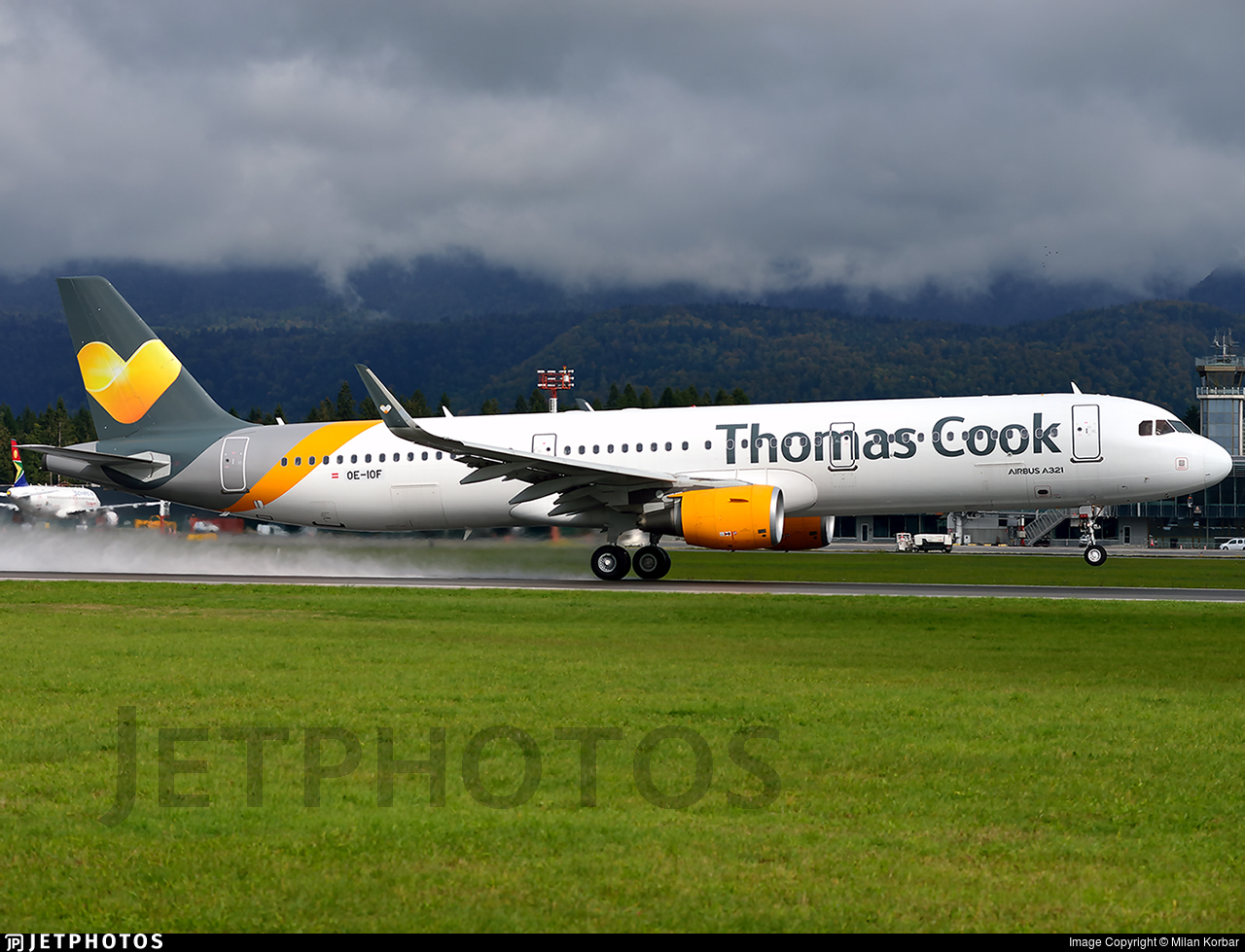OE-IOF - Airbus A321-211 - Thomas Cook Airlines