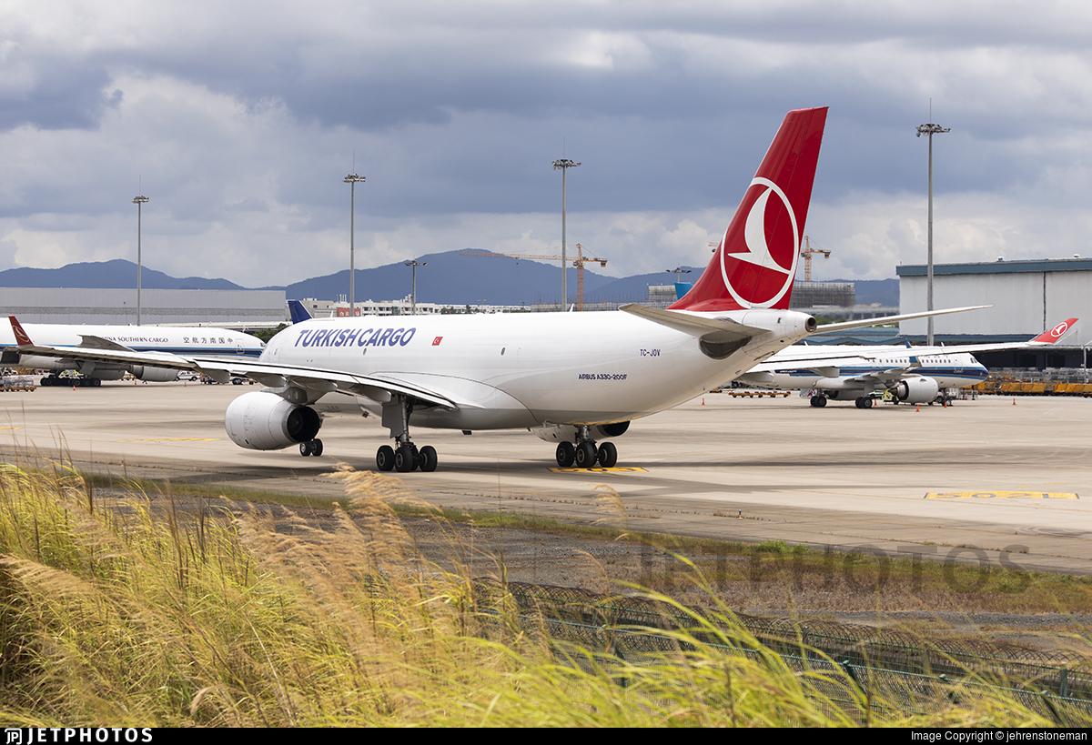 TC-JOV - Airbus A330-243F - Turkish Airlines Cargo