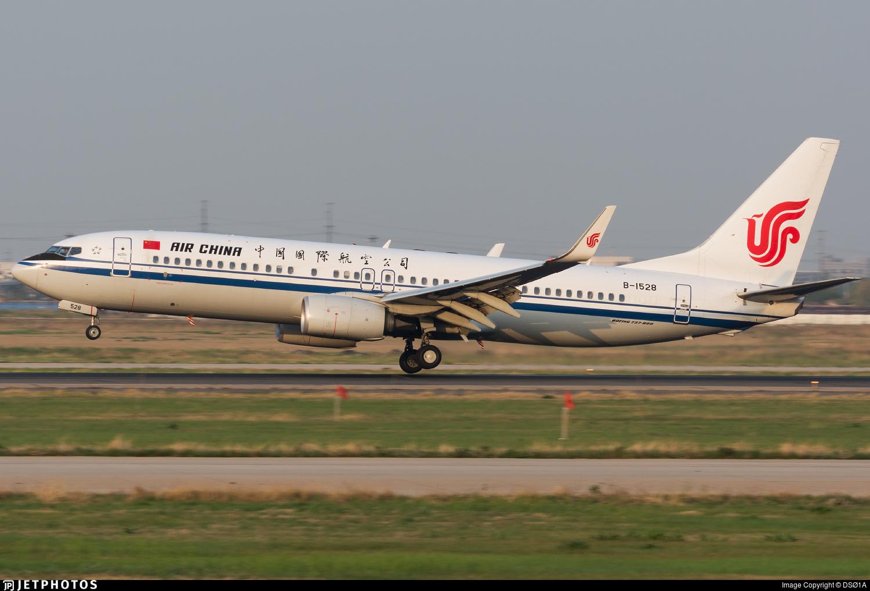 B-1528 - Boeing 737-89L - Air China