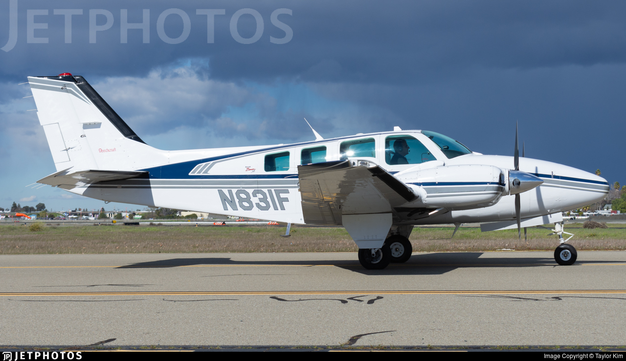 N831F - Beechcraft 58 Baron - Private