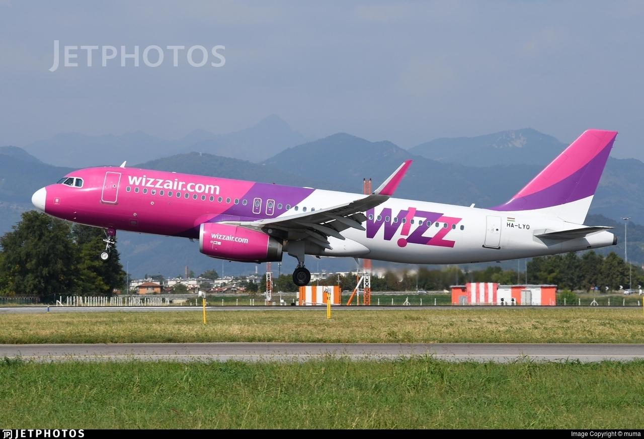 HA-LYO - Airbus A320-232 - Wizz Air