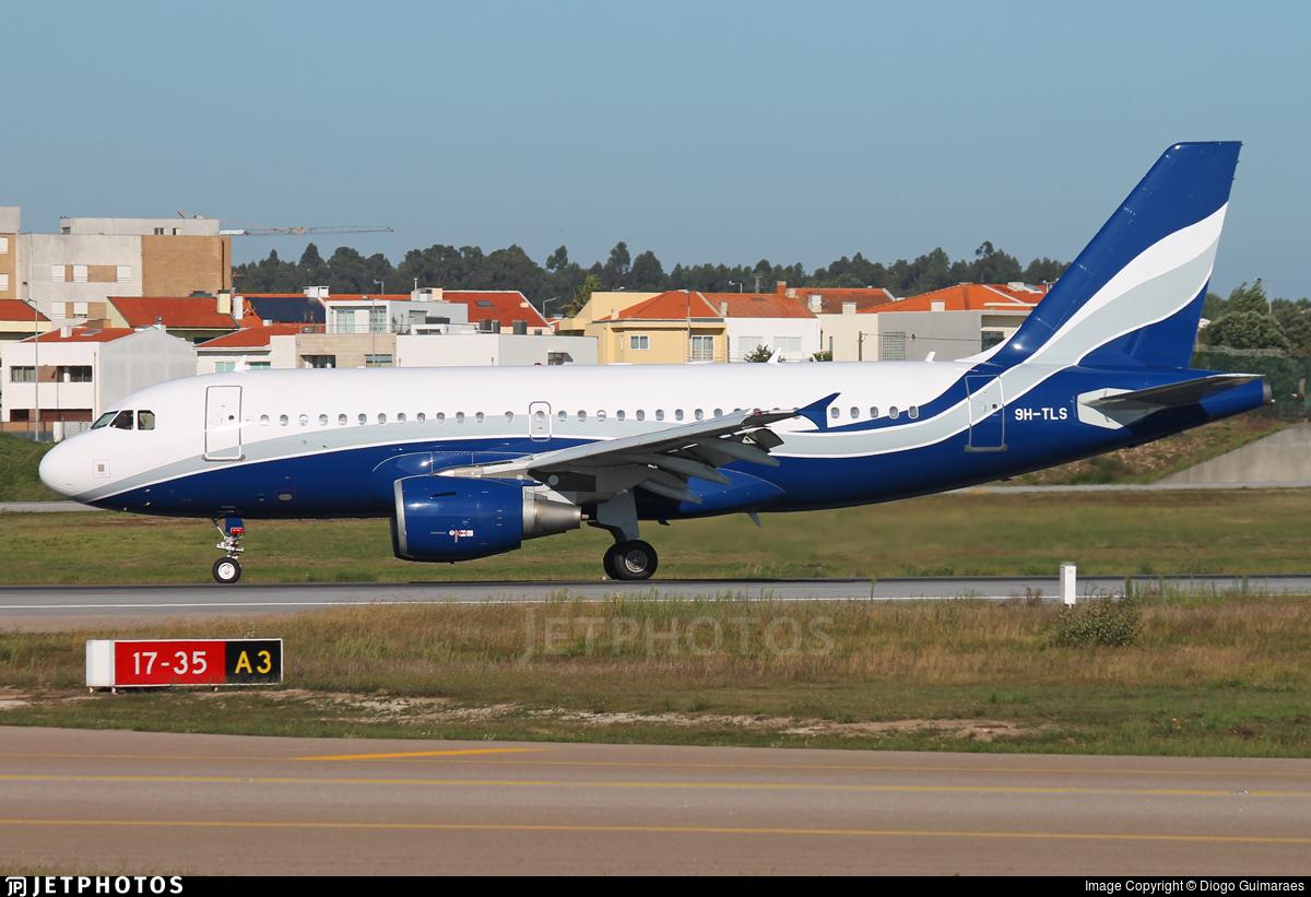 9H-TLS - Airbus A319-112 - Hifly Malta