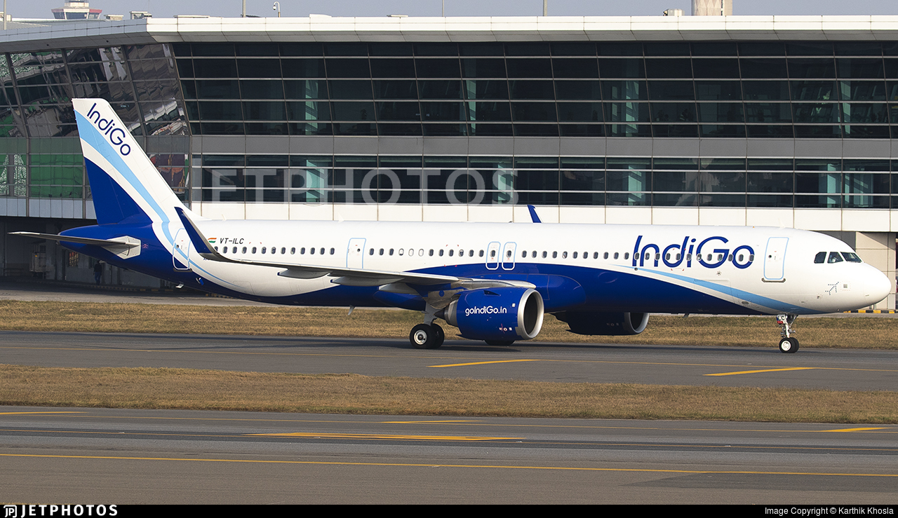 VT-ILC - Airbus A321-251NX - IndiGo Airlines