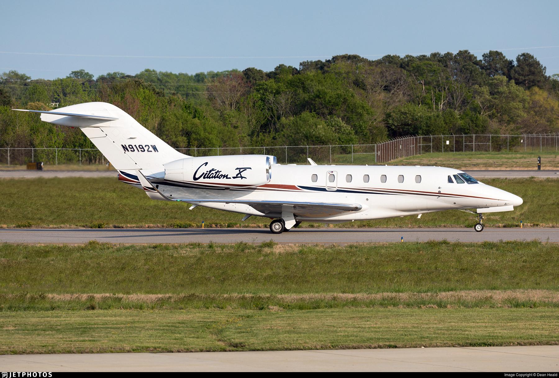 N9192W - Cessna 750 Citation X - Private