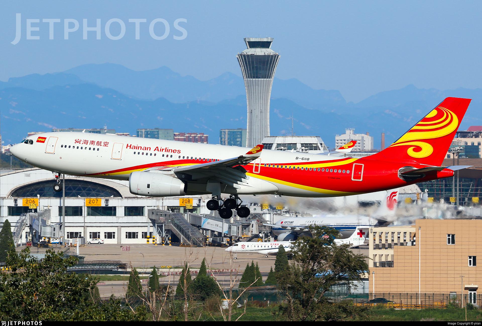 B-6118 - Airbus A330-243 - Hainan Airlines