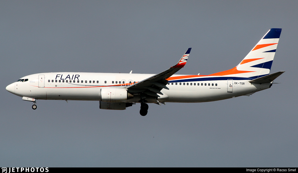 OK-TSR - Boeing 737-82R - Flair Airlines