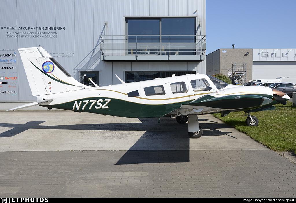 N77SZ - Piper PA-34-200T Seneca II - Private