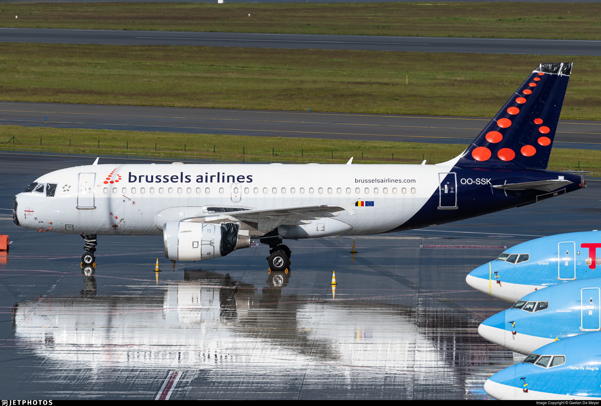 OO-SSK - Airbus A319-112 - Brussels Airlines