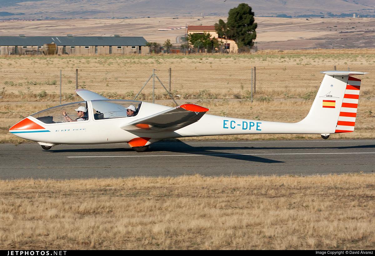 EC-DPE - Grob G103A Twin II Acro - Aeronáutica del Guadarrama
