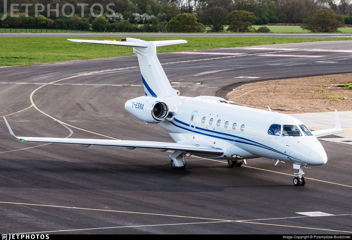 G-ESNA - Embraer EMB-550 Legacy 500 - Air Charter Scotland