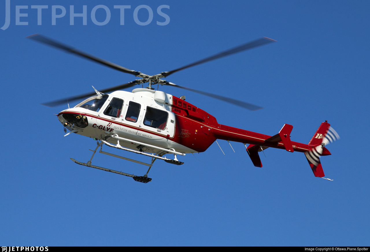 C-GLYF - Bell 407 - Helicopter Transport Services